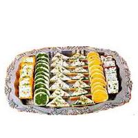 Delightful Haldirams Mixed Sweets Platter