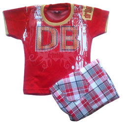 Red Kidswear for Boy.(2 year - 4 year)