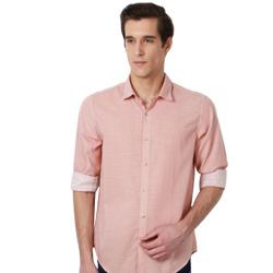 Pink Hue Printed Casual Peter England Shirt