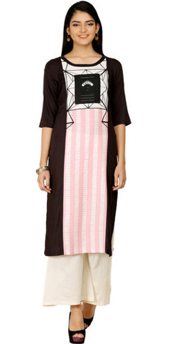 Swish Black Kurti by Wills Lifestyle
