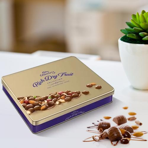 Deliver Tin of Cadbury Celebrations Rich Dry Fruits online