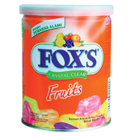 Delectable Foxs Candy Bar Gift Box