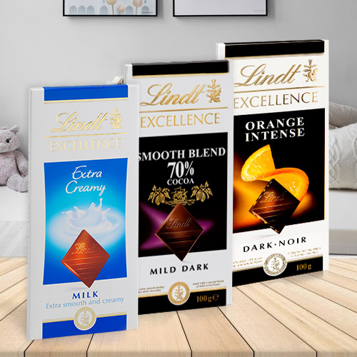Special Lindt Excellence Chocolate Bars