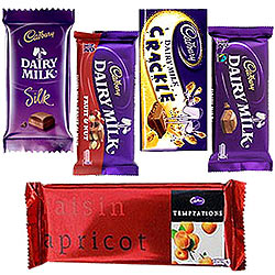 Sumptous Assortment of Cadbury Chocolates