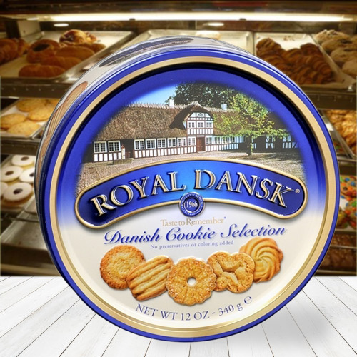 Fresh Dansk Assorted Cookies