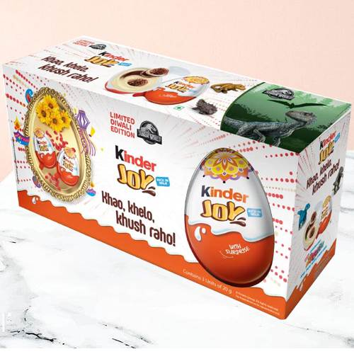 Extraordinary Kinder Joy Chocolates Pack 6 Pcs.