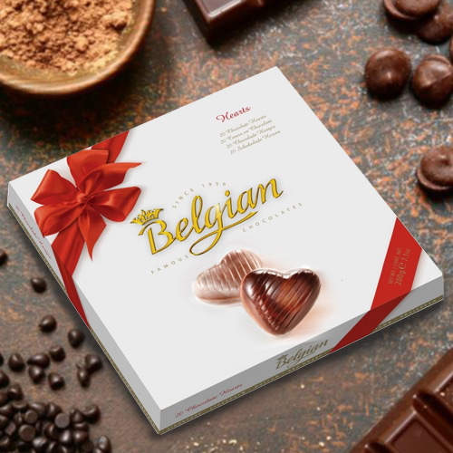 Delicious Belgian Chocolates
