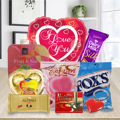 Delectable Chocolaty Love Hamper