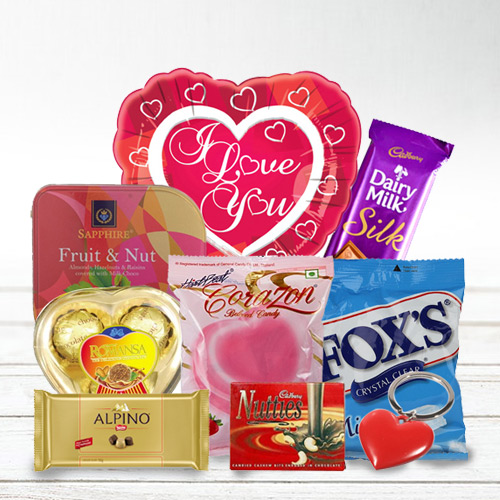Delightful I Love You Chocolate Hamper