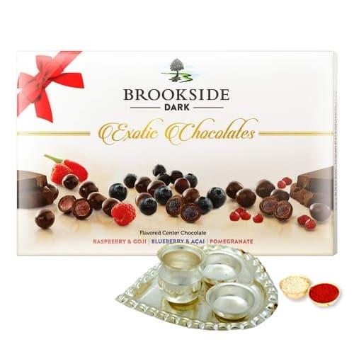 Fruit Flavoured Dark Chocolates from Brookside