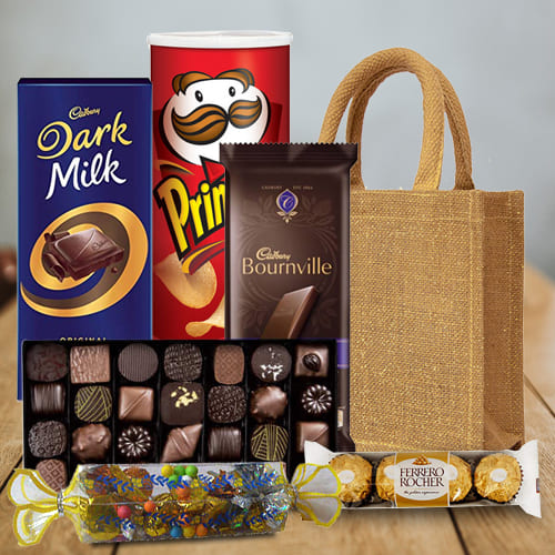Delicious Mixed Chocolates Hamper