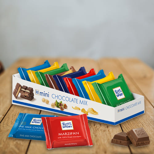 Delicious Mini Chocolate Mix from Ritter Sport