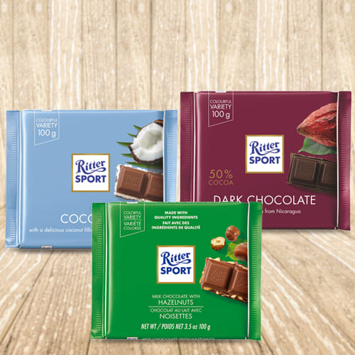 Ritter Sport Mixed Chocolates Pack