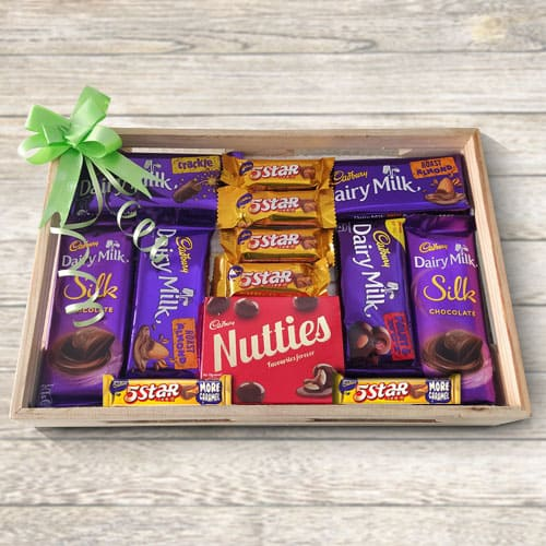 Mixed Cadburys Chocolate Gift Tray