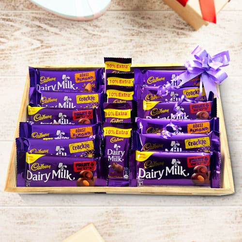Exclusive Platter of Cadbury Chocolates