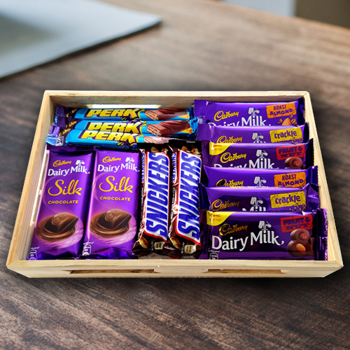 Enjoyable Chocolates Gift Hamper