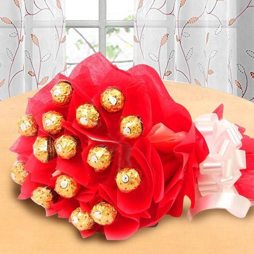 Marvelous Bouquet of Ferrero Rochher Chocolate