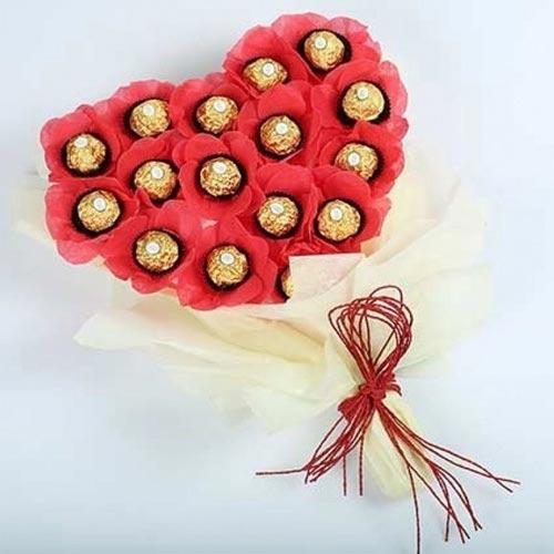 Enticing Ferrero Rocher Chocolate Bouquet