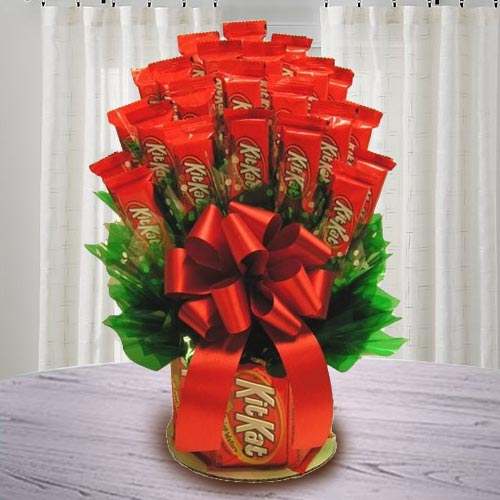 Enticing Nestle Kitkat Bouquet