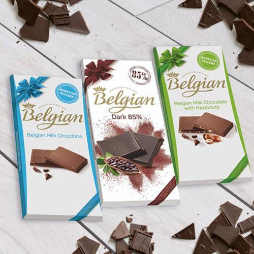 Sumptuous Belgian Chocolate Delight