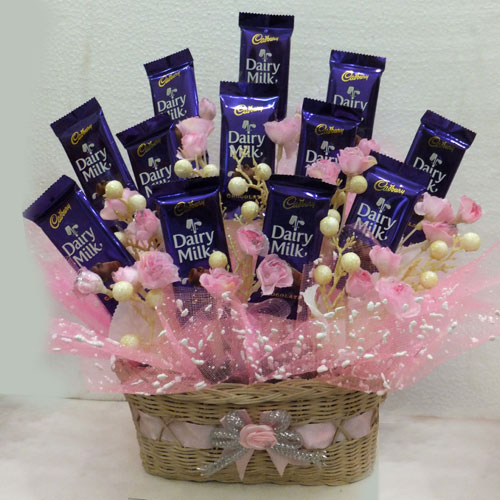Yummy Cadbury Dairy Milk Basket