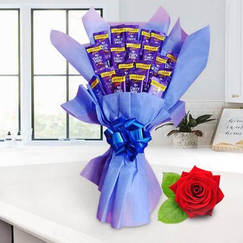 Delicious Cadbury Dairy Milk Chocolate Bouquet
