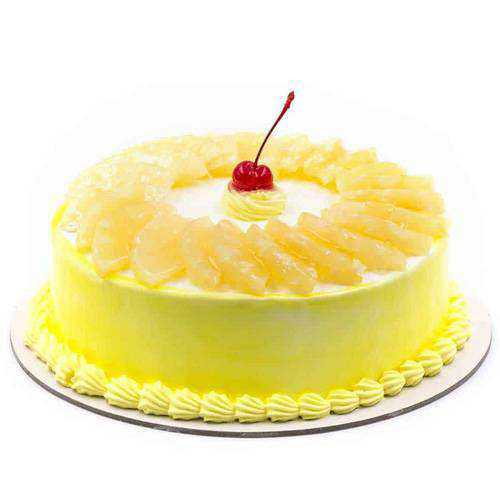 Tempting Pineapple Cake from Taj or 5 Star Hotel Bakery