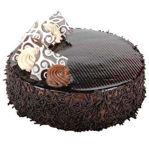 Enjoy the Treat Chocolate Cake