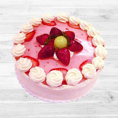 Exquisite Strawberry Cake