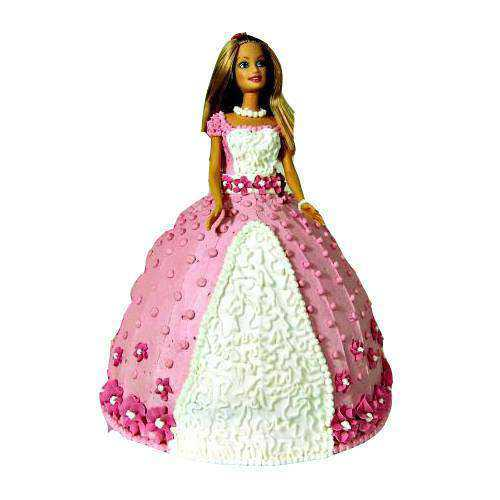 Sumptuous Barbie Cake