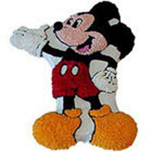 Delightful Mickey Mouse Cake
