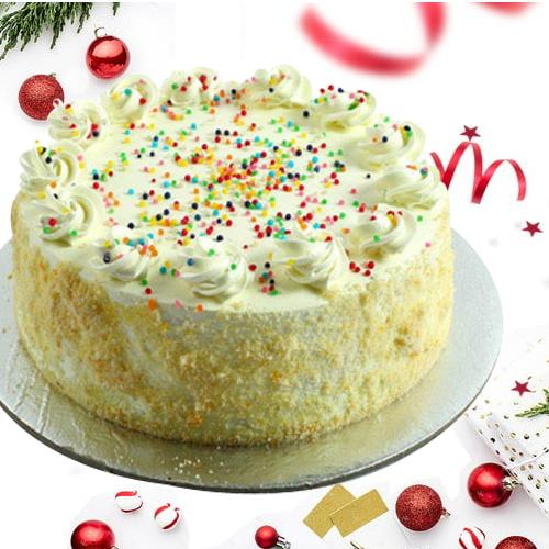 Delicious 2 Kg Vanilla Cake