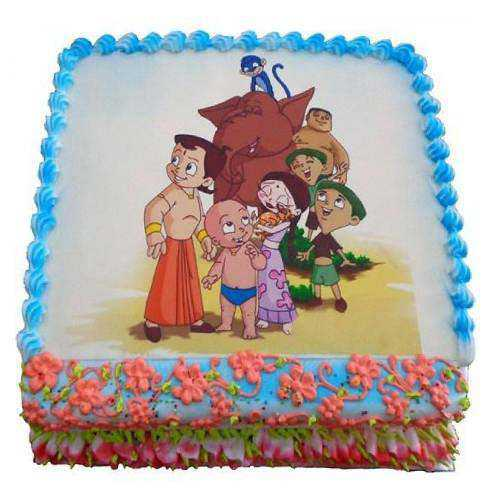 Mouth-Watering Chota Bheem Cake