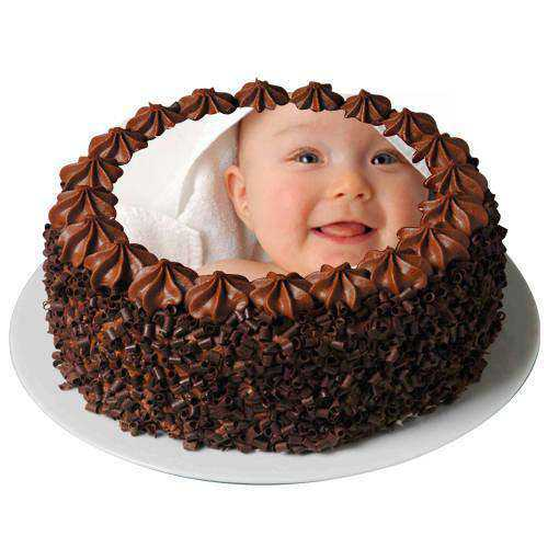 Yummy Wonder 2 Kg Chocolate Photo Cake