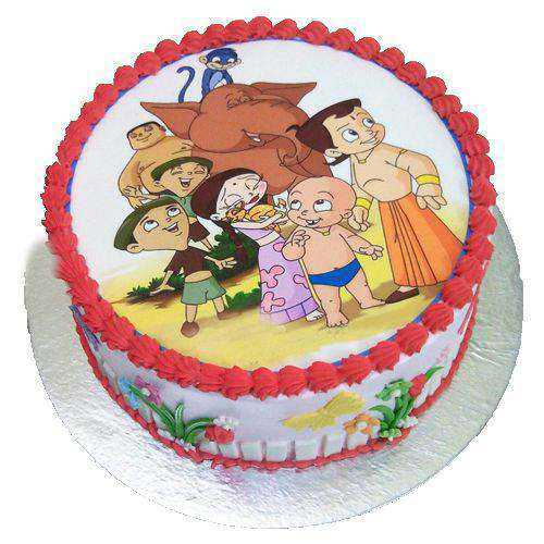 Magical Chota Bheem Cake