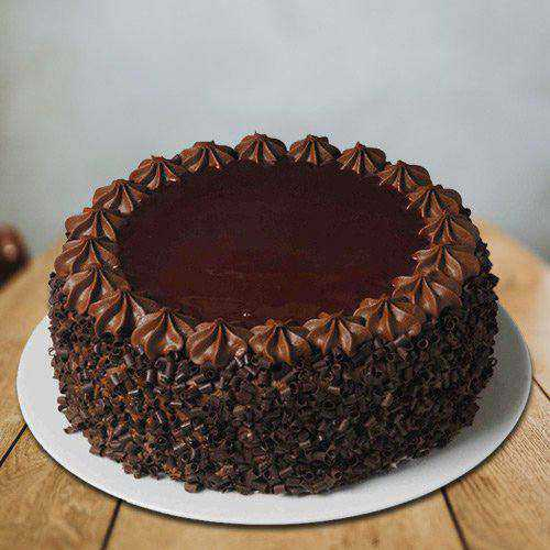 Gratifying Chocolate Flavored Eggless Cake from 3/4 Star Bakery