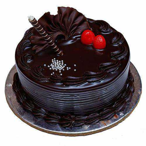 Blissful Chocolate Truffle Cake