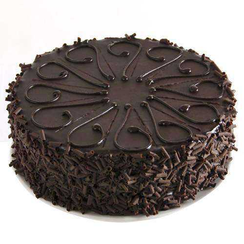Birth-Day Party Eggless Chocolate Cake