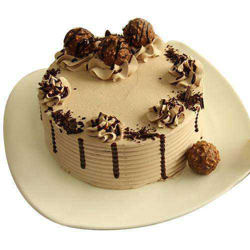 Luxuriant Ferrero Rocher Chocolate Cake