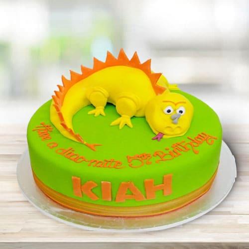 Yummy Dino Kids Cake