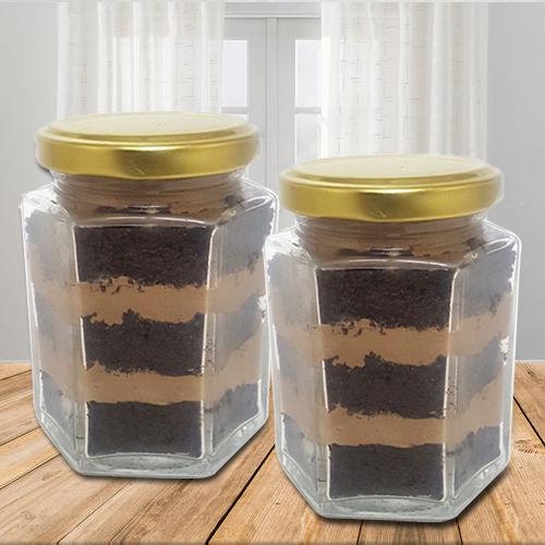 Special Chocolate Jar Cake Set