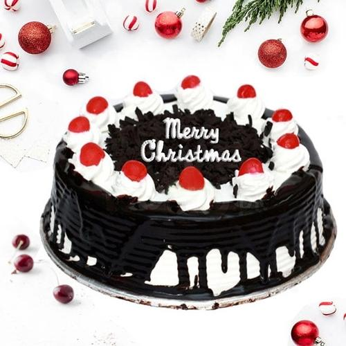 Sumptuous Black Forest Cake for X Mas