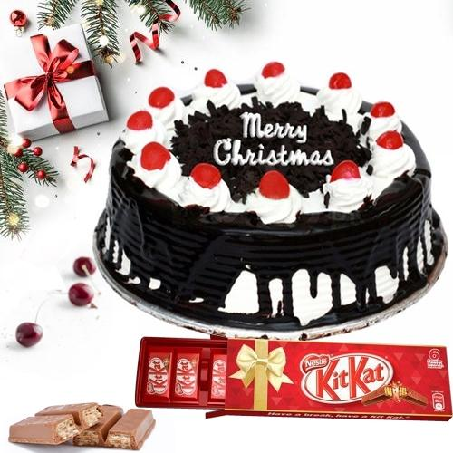 Delectable Black Forest Cake N Chocolate Treat for Xmas