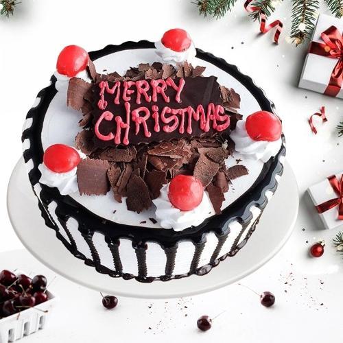 Sensational Black Forest Cake for X mas
