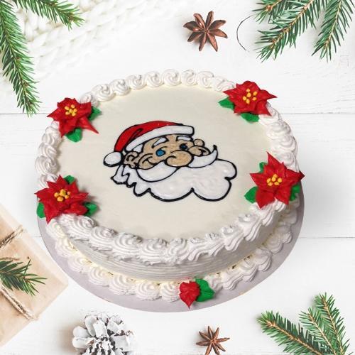 Tempting Holiday Special Vanilla Cake