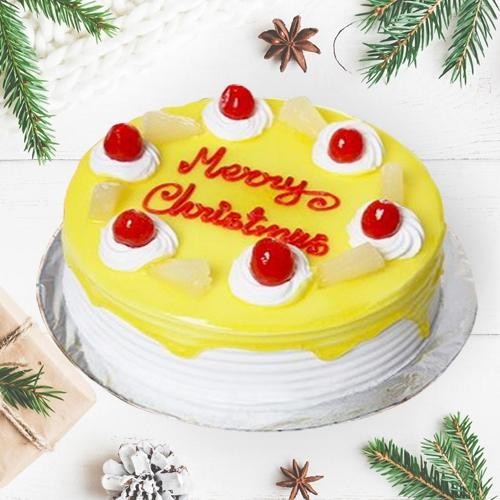 Irresistible Pineapple Cake for Xmas