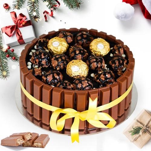 Magical KitKat Ferreo Rocher Chocolaty Cake