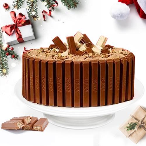 Lip-Smacking KitKat Special Cake