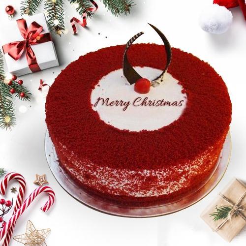 Marvelous Red Velvet Cake for Christmas