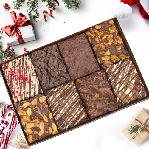 Mouth-Watering Browniesfor X-mas